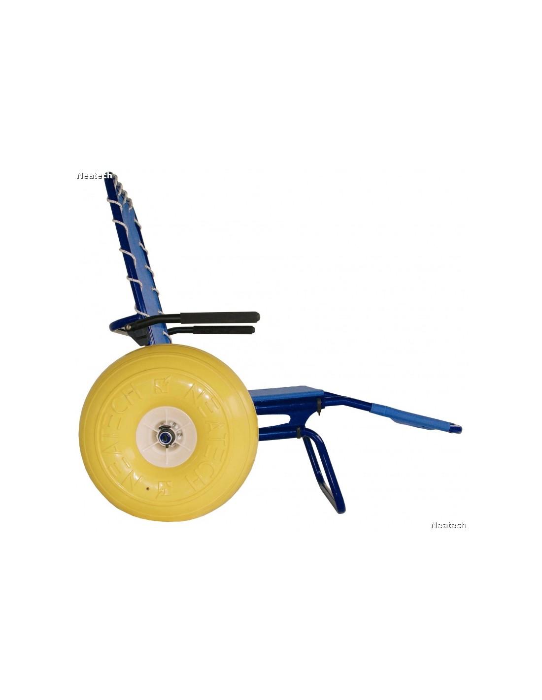 Sedia Da Mare Per Disabili con Braccioli e Cintura ...