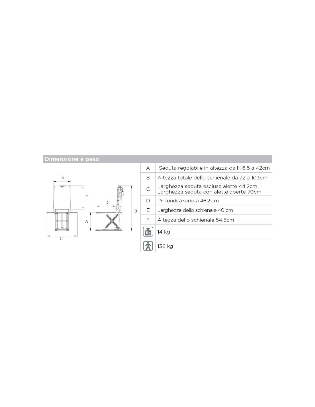 Sollevatore Elettrico Per Vasca Da Bagno Rs900 Emporio Sanitario
